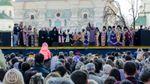 Как в Киеве молились за мир и единство Украины