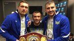 Порошенко поздравил Усика, Ломаченко и Гвоздика с победой