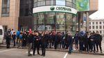 """В Украине продолжается война против российского """"Сбербанка"""""""