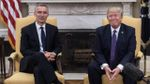 Ситуация на Ближнем Востоке или в Украине - это безумие, - Трамп после встречи с генсеком НАТО