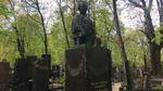 В сети опубликовали фото поврежденного памятника Лесе Украинке