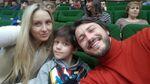 Притула показал трогательные фото с семейного просмотра баскетбола