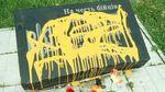 Пам'ятний знак на честь Героїв Небесної Сотні облили фарбою в Сумах