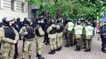 У МВС дали пояснення блокуванню штабу ОУН у Києві
