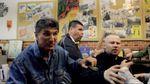 """Появилось видео драки с участием """"Азова"""" в офисе афганцев в Николаеве"""