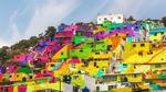 В Індонезії з'явилося кольорове село: яскраві фото з соцмереж