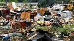 Смертельні торнадо вирують у США: моторошні фото стихії