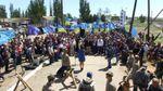 На кордоні з Кримом вшановували жертв геноциду кримських татар