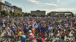 Велодень в Харькове начали патриотическим флэшмобом