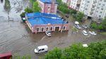 Львів перетворився на Венецію після шаленої зливи