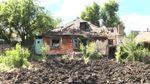 Як мешканці Красногорівки оговтуються після обстрілу бойовиками житлових кварталів