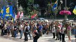 Бійці ввірвались на засідання Київради