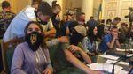 Поліція відкрила перші кримінальні провадження після сутичок у Львівській облраді