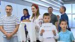 Українських кікбоксерів після тріумфальної перемоги зустріли в Києві