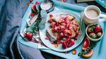 Як приготувати смачний сніданок з полуниці: рецепт