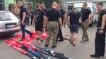 Националисты разнесли акцию левых о переименовании проспекта Ватутина