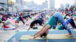 Украинские йоги установили невероятный рекорд: появилось видео