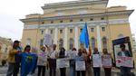 У Росії влаштували пікети на підтримку кримських татар: з'явились промовисті фото