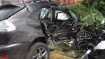 Син колишнього впливового поліцейського на  Lexus потрапив у серйозну аварію