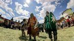 Средневековый фестиваль в Сумской области собрал рекордное количество рыцарей