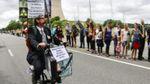 50 тысяч человек образовали живую цепь с требованием закрыть крупнейшую бельгийскую АЭС