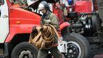 Недостроенная плавучая АЭС загорелась в России