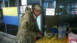 На киевском вокзале открыли волонтерский пункт для участников АТО