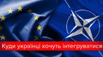 ЄС, Митний союз та НАТО: як українці ставляться до інтеграції в міжнародні інституції