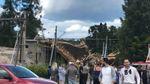 Жуткая авария на строительстве железнодорожного моста в Швеции: есть много пострадавших