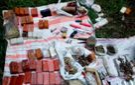 Величезний арсенал зброї та вибухівки знайшла поліція на Полтавщині: є фото