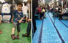 Метро Тайваня превратили в спортплощадки: яркие фото
