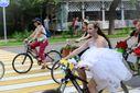 По Киеву проехался 7 женский велопарад