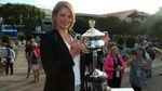Відома тенісистка дала вболівальнику свої шорти та запропонувала зіграти