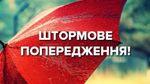 Погіршення погоди: до кінця доби у Києві оголосили штормове попередження