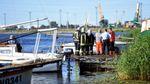 В Риге загорелась яхта: есть пострадавшие, большинство из них – дети