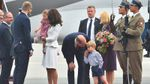 Принц Вільям та Кейт Міддлтон взяли дітей у дипломатичний тур: фото