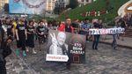 Хто вбив Павла: У пам'ять про вбитого журналіста Києвом пройшла хода