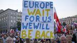 После принятия скандального закона в Польше возобновились акции протеста