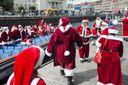 Санта-Клауси з усього світу з'їхалися до Данії на конгрес