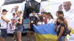 Дети из прифронтовых городов Луганщины поехали на отдых в Хорватию