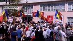 Масштабный митинг в Кишиневе: протестующие требуют отставки президента