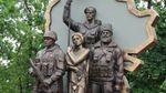 В окупованому Луганську невідомі підірвали пам'ятник бойовикам: з'явились фото