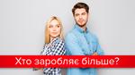 Велика різниця: скільки в Україні заробляють чоловіки і жінки?