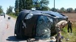 На Херсонщині сталася аварія за участі військової техніки: є загиблі та постраждалі