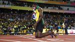 Непобедимый Болт проиграл в последнем забеге на 100 метров в карьере