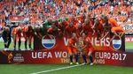 Голландцы эпически отпраздновали победу на женском Евро-2017