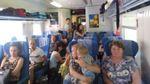 """В """"Укрзалізниці"""" пояснили, що робити пасажирам потяга Інтересі+, які їхали стоячи"""