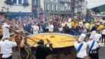 В Бельгии приготовили огромный омлет из 10 тысяч яиц