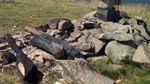 На Закарпатті вандали зрубали і спалили 8-метровий поклінний хрест