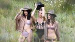 Модели Victoria's Secret снялись в горячей ковбойской фотосессии